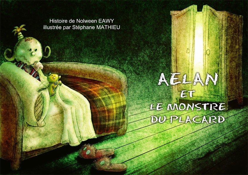 AELAN ET LE MONSTRE DU PLACARD dans Jeunesse/Enfants 001-couv