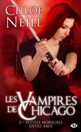 LES VAMPIRES DE CHICAGO (Tome 2) PETITES MORSURES ENTRE AMIS de Chloé Neill dans Bit-lit... vampirechicago2-1