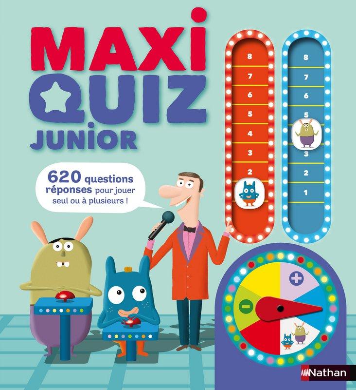 MAXI QUIZ JUNIOR dans Jeunesse/Enfants 9782092538487