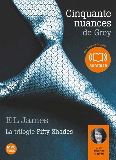 FIFTY SHADE (Tome 1) CINQUANTE NUANCES DE GREY (Version Audio) de E.L. James dans Littérature Erotique liv500014