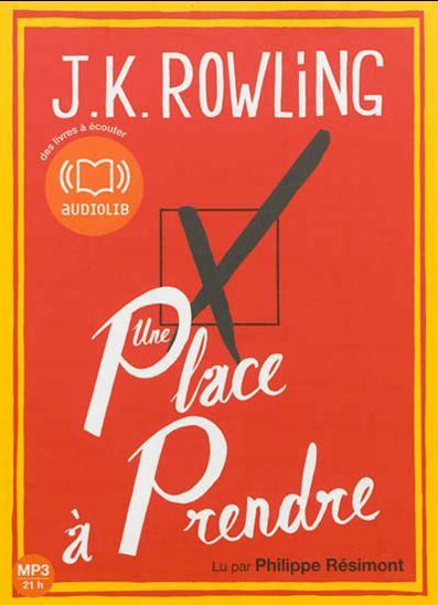 UNE PLACE A PRENDRE (Version Audio) de J.K. Rowling dans Litterature Contemporaine 1353384-gf